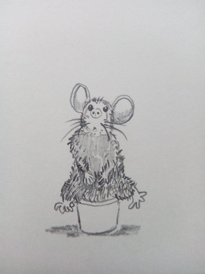 tekening illustratie potlood grafiet
