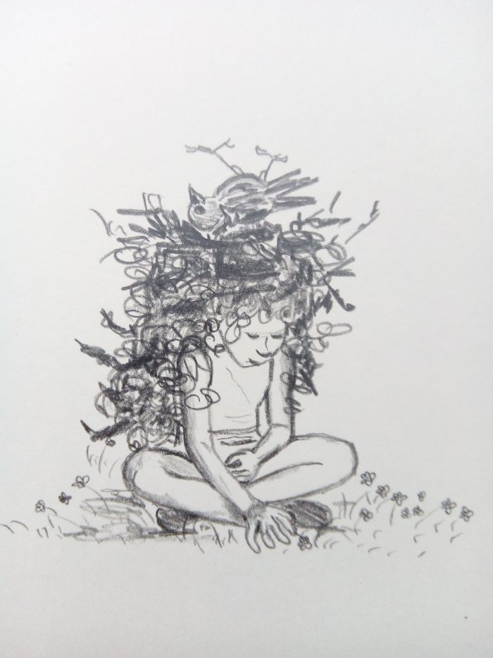 tekening illustratie schilderij potlood grafiet