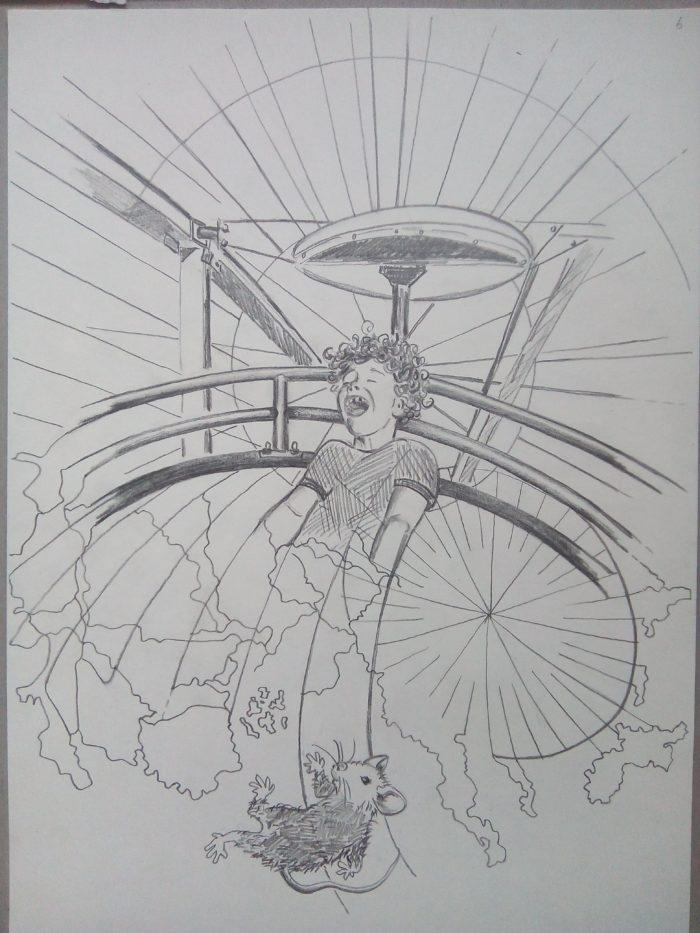 illustratie potlood grafiet