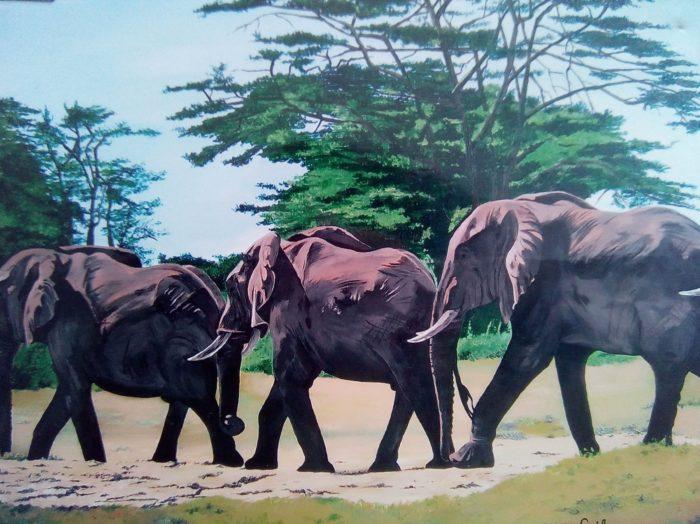 schilderij acrylverf